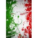 Tubolare scaldacollo bandiera ITALIA SCHIZZI COLORE