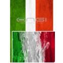 DOUBLE FACE Tubolare scaldacollo Bandiera ITALIA