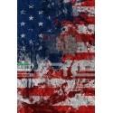 Tubolare scaldacollo bandiera USA MURALES